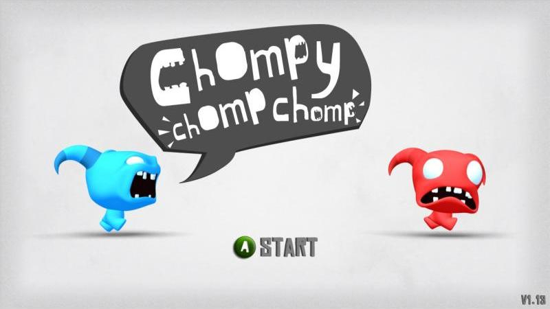 Chompy Chomp Chomp Title Screen